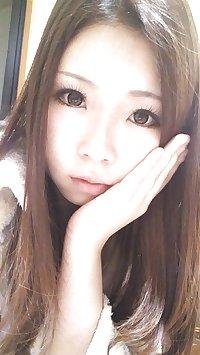 Very Beautiful Japanese girl Chihiro's dirty selfies