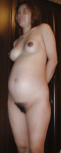 Pregnant asian women