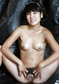 Asian women showing more than hairy armpits