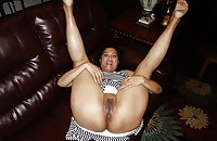 Asian MILF Luann Spreading