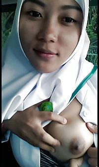 indonesian jilbaber from nursing college