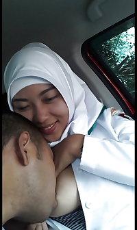 indonesian jilbaber from nursing college