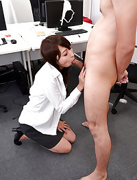 Japanese office girl fucked