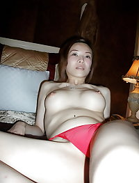 Another Asian College Girl with Hairy Pussy