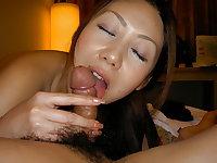 JAPANESE GIRLFRIEND , slut spread and fuck