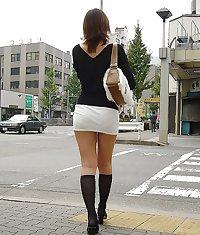 Japanese Girl Back Shots 03