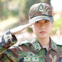 Hot Asian Military Females in Uniform
