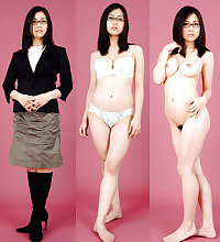 Dressed and Undressed Japanese Girls and Women 4