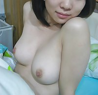Asian chick and her daily dose of cum