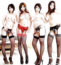 Groups Of Asian Babes