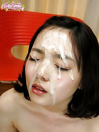 119 asian japanese jav facial
