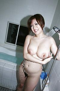 Busty Japanese Babe Nana Aoyama