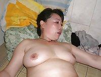 Asian Slut Wife Fucks Old Neighbor