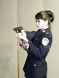 Chinese policewoman fucked by boss
