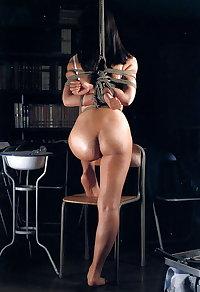 Nice Asian BDSM rope bondage