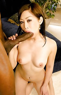 Sucky Sucky Niggel Big Dick! - Asians Sucking Black Cock