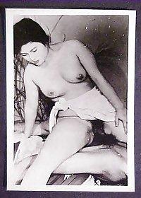 Vintage and Retro Asian Women